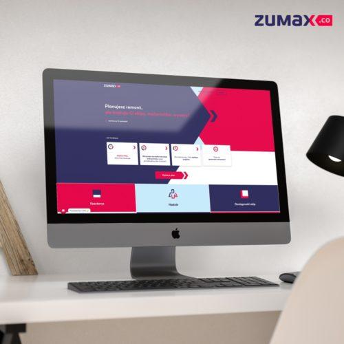 Zumax Landing Page